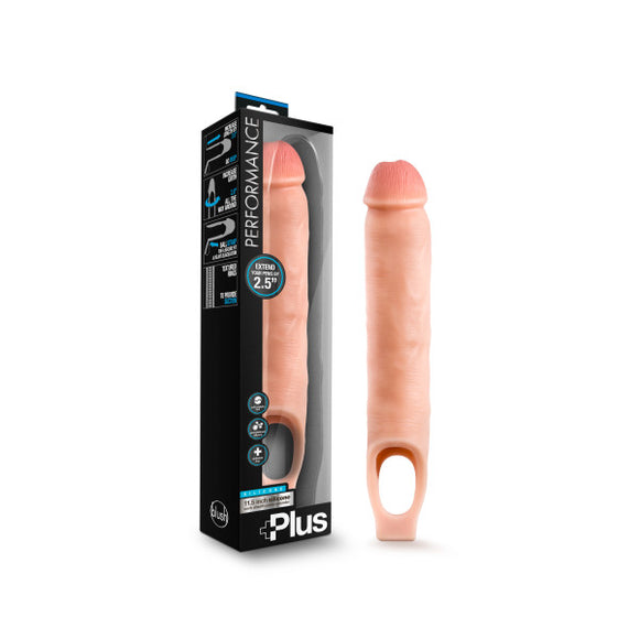 Performance Plus 11.5'' Silicone Cock Sheath Penis Extender