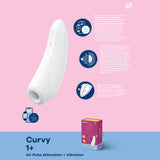 Satisfyer Curvy1+ APP CONNECT (White)