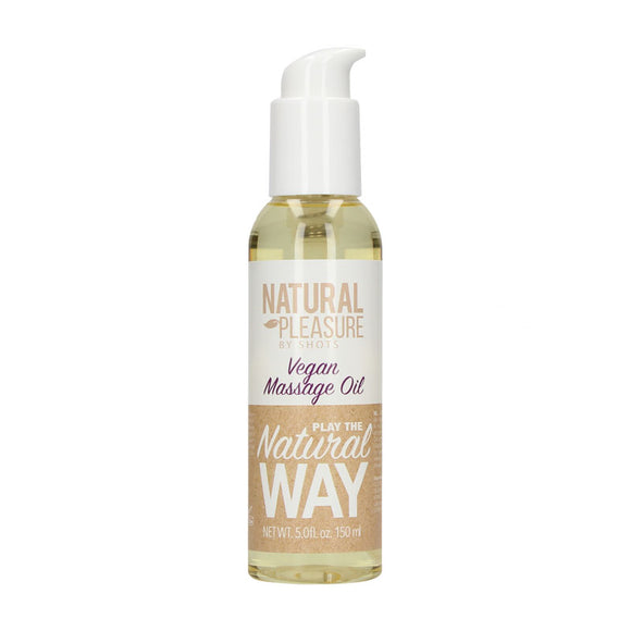 Natural Pleasure Vegan Massage Oil