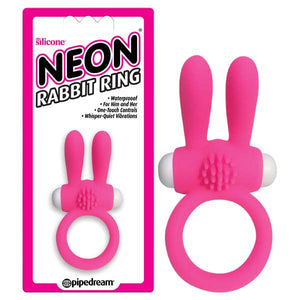 Neon Rabbit Ring