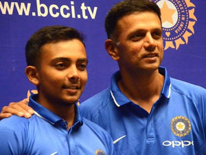 Prithvi Shaw reveals how Rahul Dravid's contribution helped him in his maiden Test ton