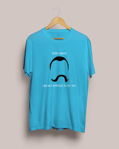 I am not supposed to tell you T-Shirt by Mustache by Mustache RUPCHIK rupchik.myshopify.com