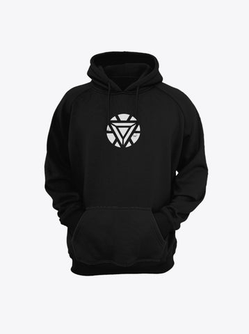 Iron Man Arc Reactor Hoodie by Mustache by Mustache RUPCHIK rupchik.myshopify.com