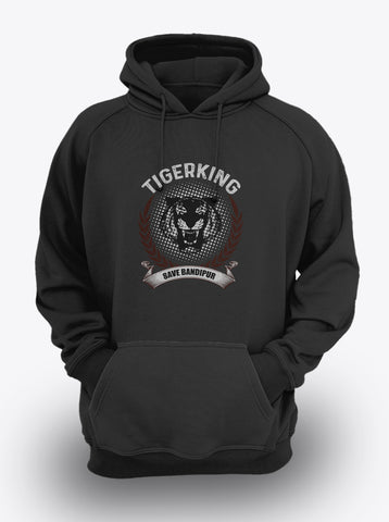 TIGERKING - SAVE BANDIPUR SPECIAL EDITION Hoodie by Mustache by Mustache RUPCHIK rupchik.myshopify.com