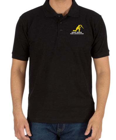 Rahul Dravid Fans Association Official Wear By Rdfa - S / Black - T-Shirts