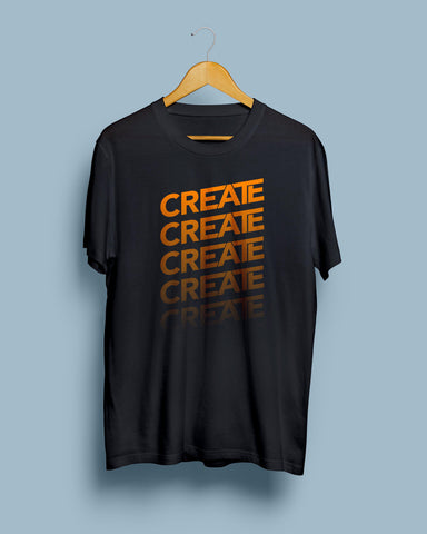 Create T-Shirt for Creative people by Mustache by Mustache RUPCHIK rupchik.myshopify.com
