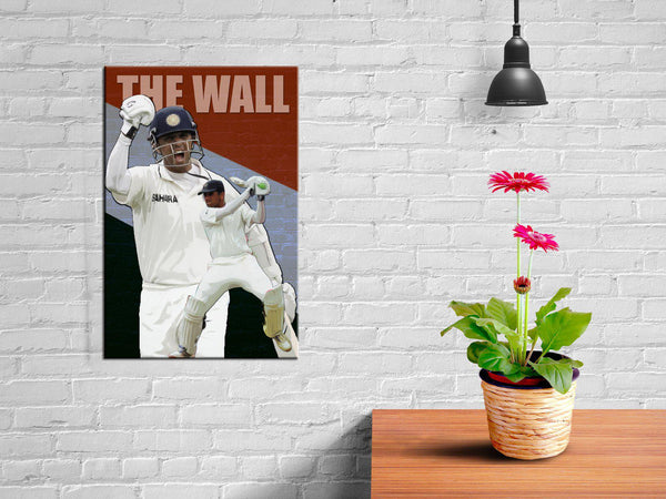 Rahul Dravid - The inspiration Wall Poster
