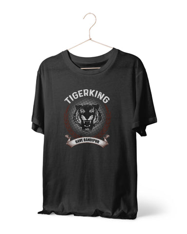 Tigerking - Save Bandipur Special Edition T-Shirt by Mustache by Mustache RUPCHIK rupchik.myshopify.com