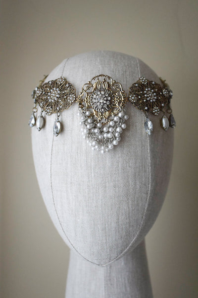 Moroccan Medallion Headpiece - Style #229