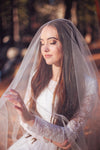 Danani | Drop Veil with Blusher - Style #301 | Skye Amanda Photo