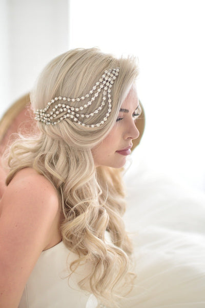 Danani | Ripple Headpiece - Style #201 | David Newkirk Photography