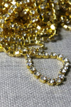 Danani | Draped Crystal Pins in Gold/ Crystal - Style #211