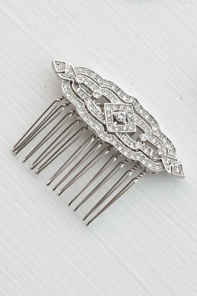 Golden Feather Hair Comb - Style #476