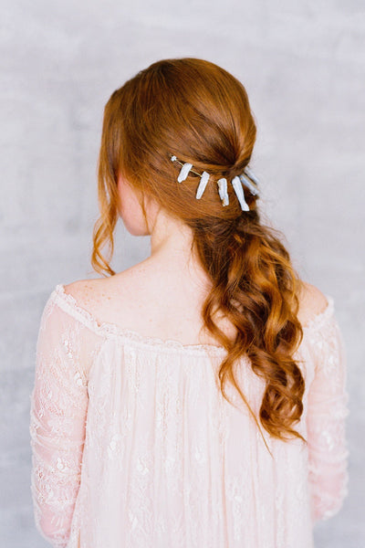 Danani | Gemstone Point Hair Swag - Style #234 | Loblee Photography