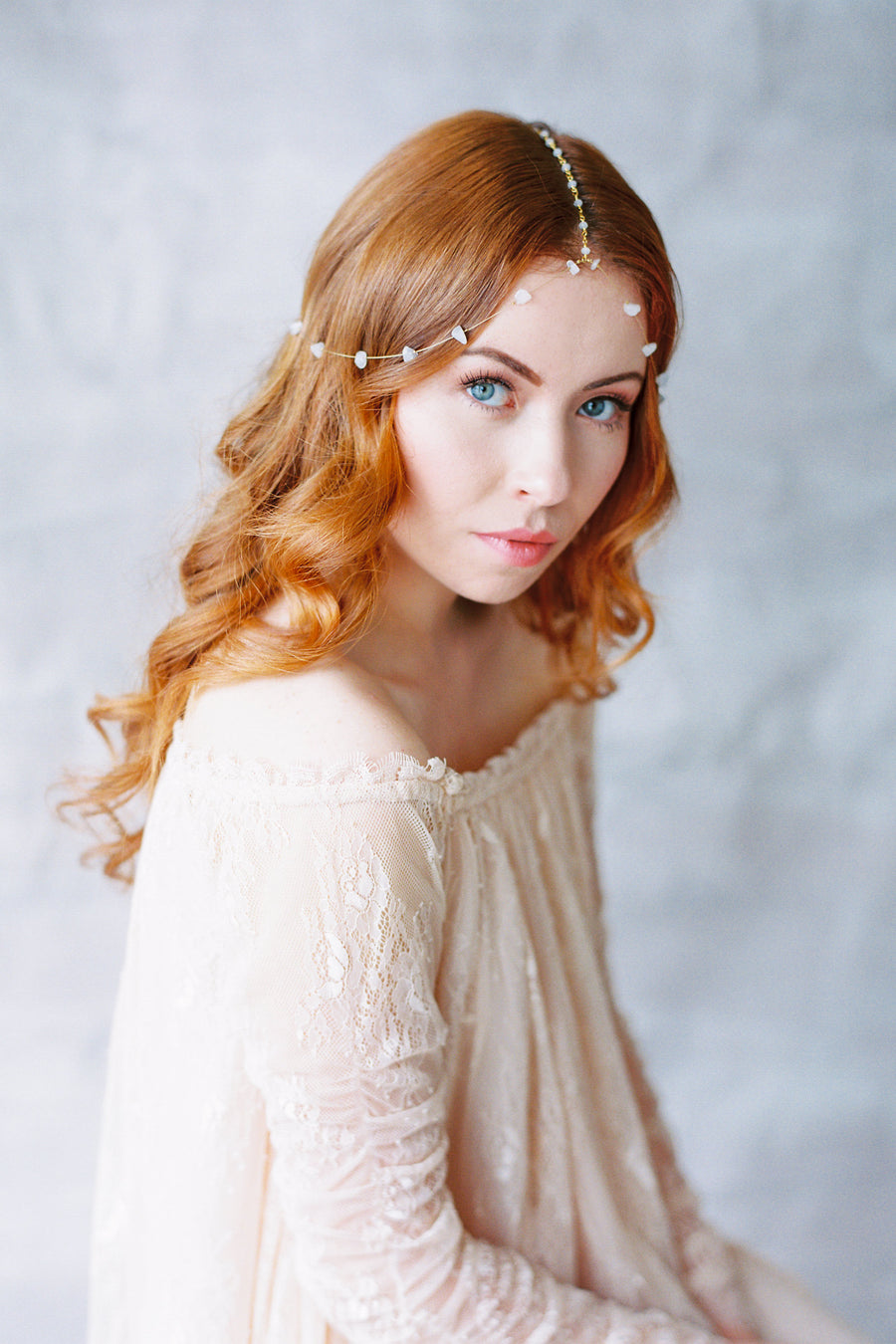 Danani | Gemstone Bohemian Headpiece - Style #432 | Loblee Photography