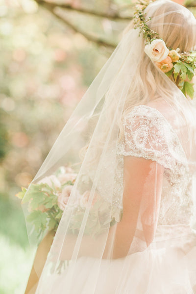 Danani | Sheer Juliet Veil - Style #304 | Megan Robinson Photography