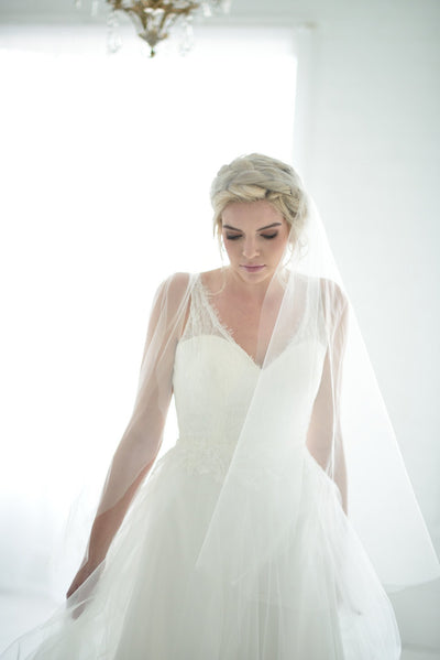Danani | Sheer Juliet Veil - Style #304 | David Newkirk Photography