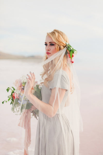 Danani | Sheer Juliet Veil - Style #304 | Evelyn Eslava Photography