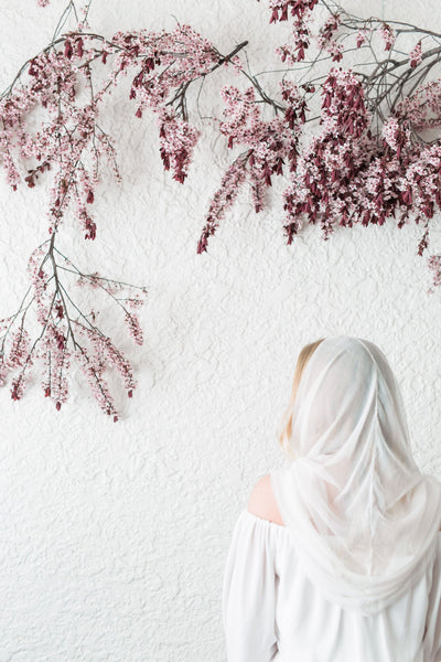 Danani | Silk Tulle Hooded Veil - Style #328 | As Ever Photography