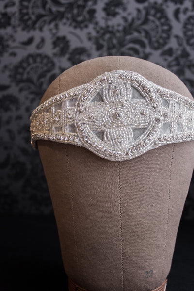Great Gatsby Crystal Bohemian Headpiece - Style #450