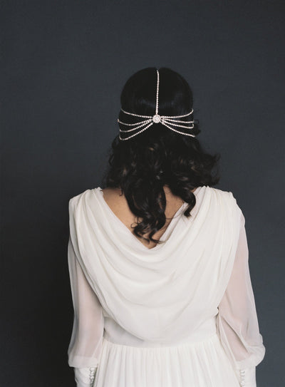 Danani | Art Deco Bohemian Headpiece - Style #429 | Loblee Photography