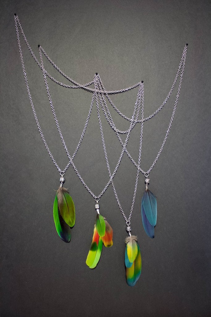 Sanctuary Parrot Necklace - #4