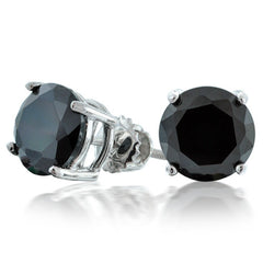 Swarovski Black Crystal Earrings