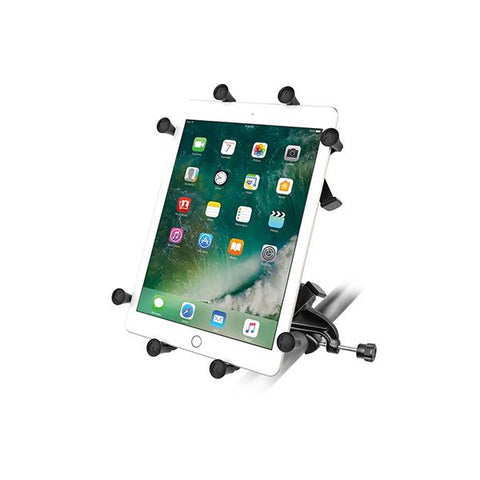 "RAM® X-Grip® Mount with Yoke Clamp Base for 9""-10"" Tablets (RAM-B-121-UN9U)"