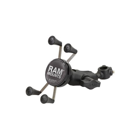 "RAM® X-Grip® Phone Mount with 1/2"" Diameter Rail Base (RAM-HOL-UN7-A-309-5U)"