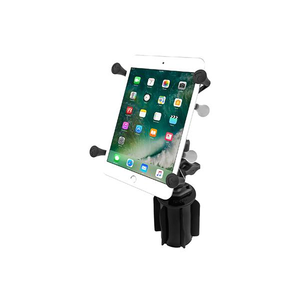 "RAM® X-Grip® with RAM-A-CAN™ II Cup Holder Mount for 7""-8"" Tablets (RAP-299-3-UN8U)"