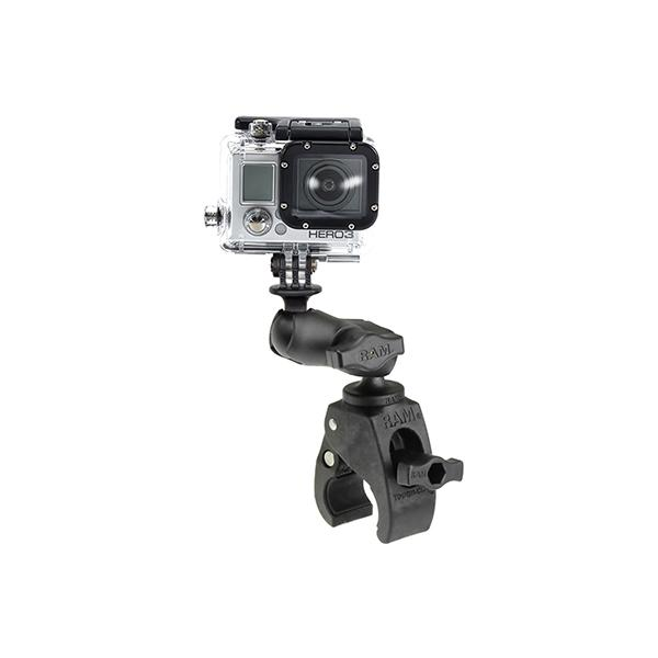 RAM® Tough-Claw™ Small Clamp Mount with Universal Action Camera Adapter (RAP-B-400-A-GOP1U)