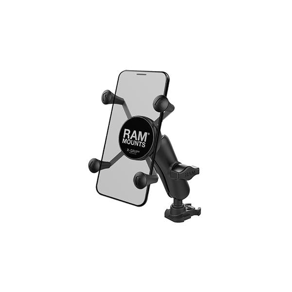 RAM® X-Grip® Phone Mount with Ball Adapter for GoPro Bases (RAP-B-GOP2-UN7U)
