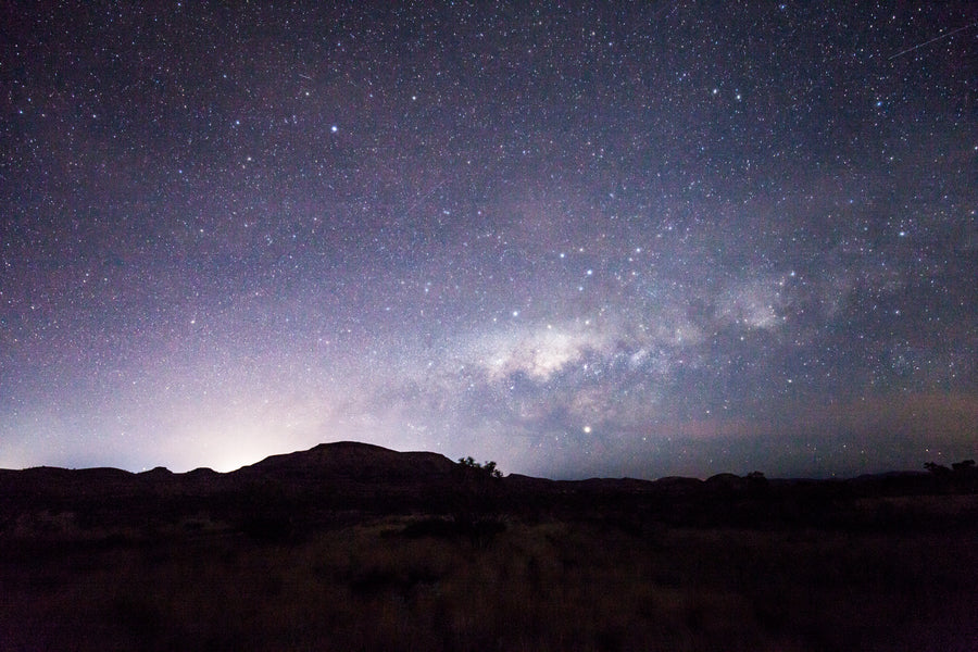 Milky way pilbara