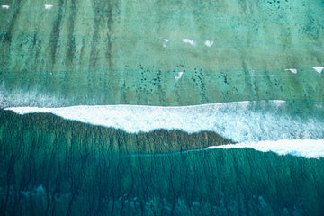 Aerial photo of Ningaloo Reef