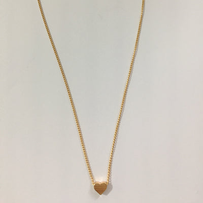 Gold Tone Layered Chain Necklace