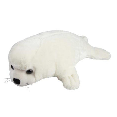 White Furry Seal 40cm