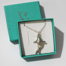 Load image into Gallery viewer, Pewter Seal Necklace
