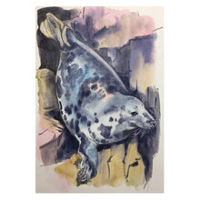 Load image into Gallery viewer, A4 Signed Giclee Mounted Print - Sarah Bell Watercolour