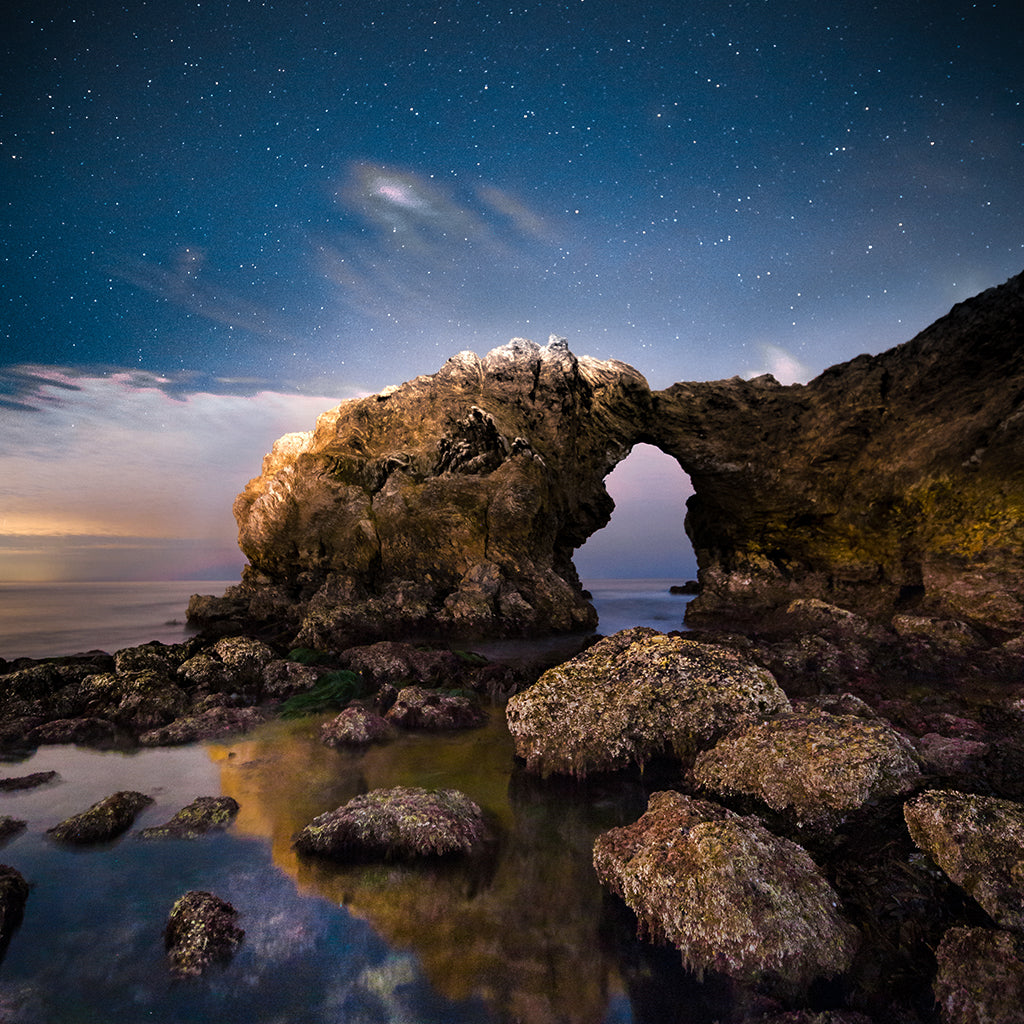 Starry Arch Reflections