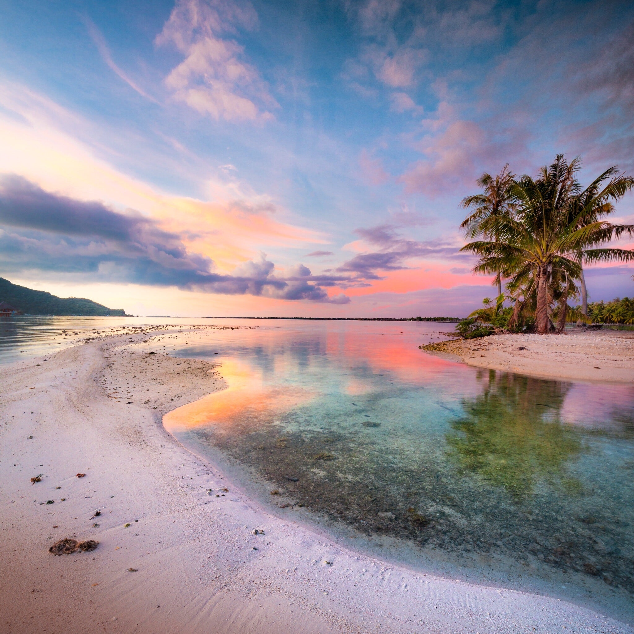 Painted Bora Bora Sky