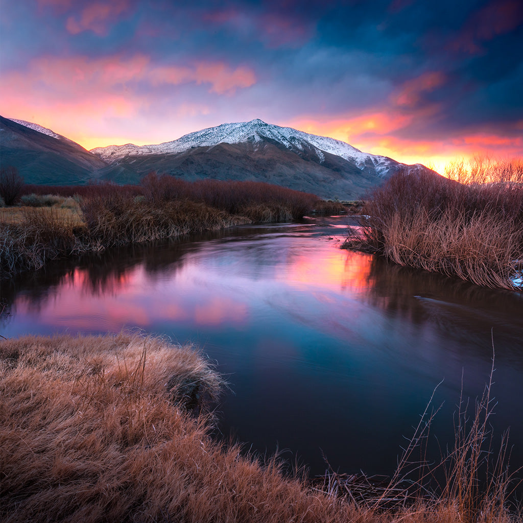 Morning Owens River