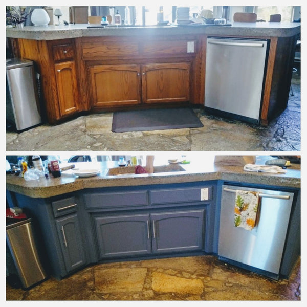 Painting a kitchen island