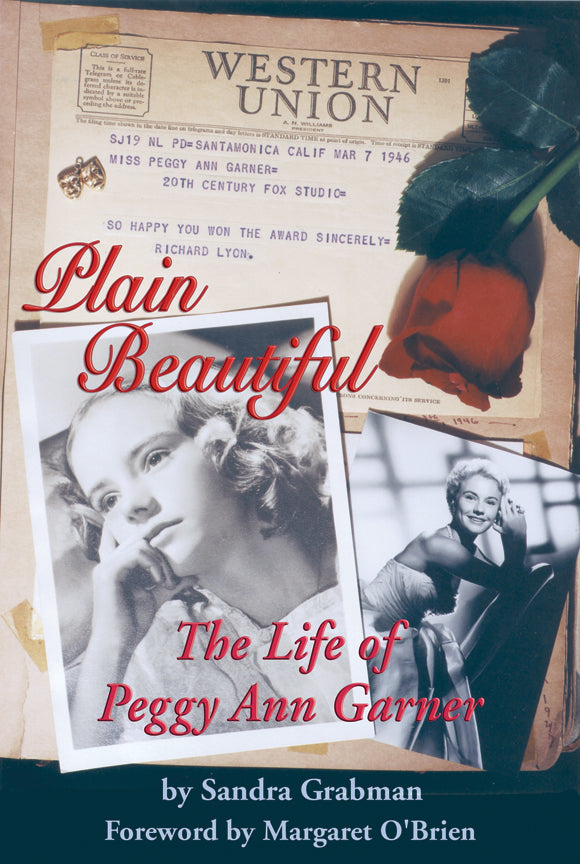 Plain Beautiful: The Life of Peggy Ann Garner (audiobook) - BearManor Manor