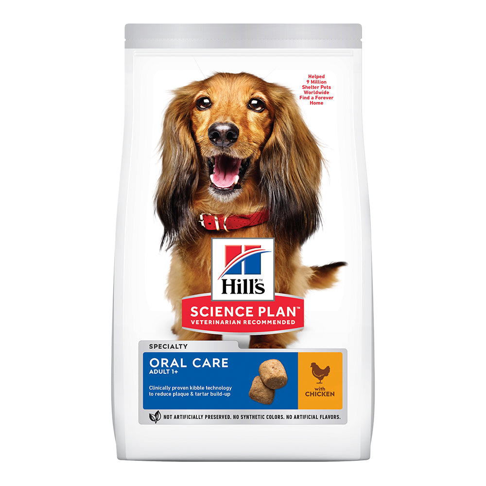Hill's Adult Oral Care Medium Dry Food - Chicken