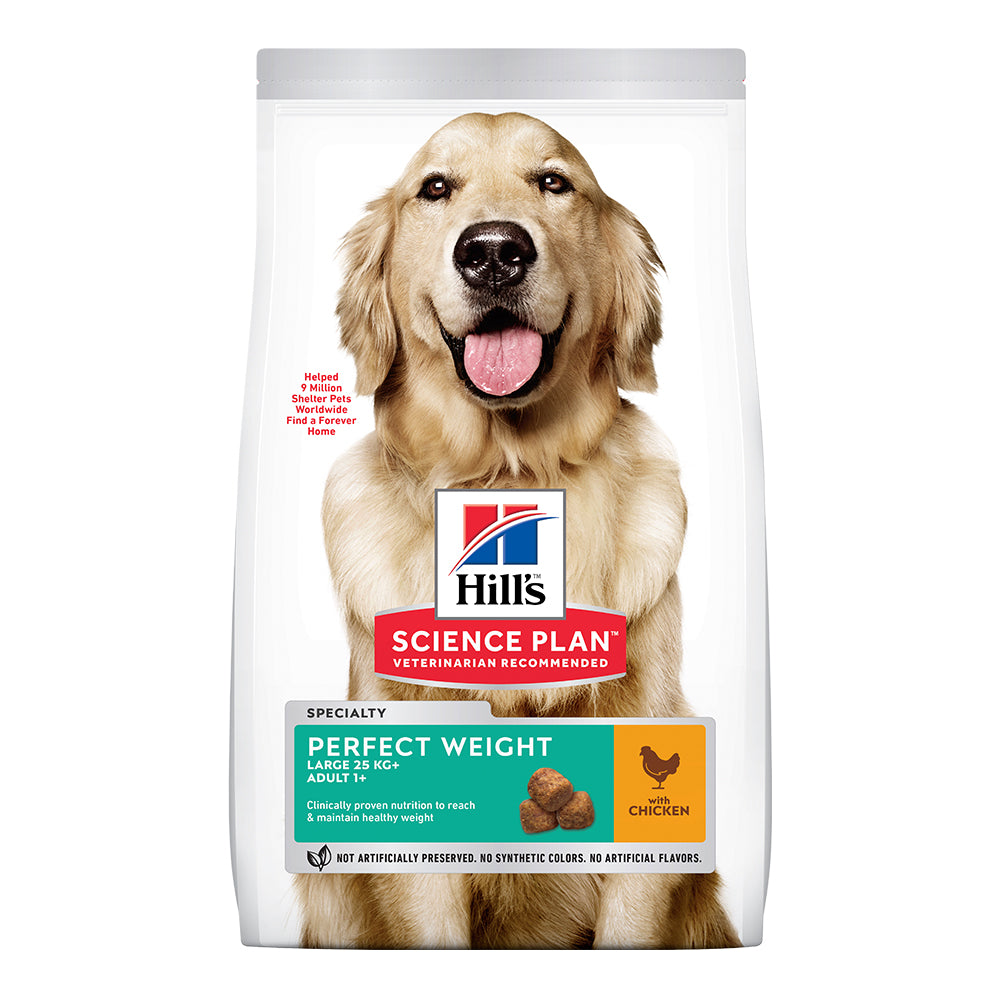 Hill's Adult Perfect Weight Large Breed Dry Food - Chicken