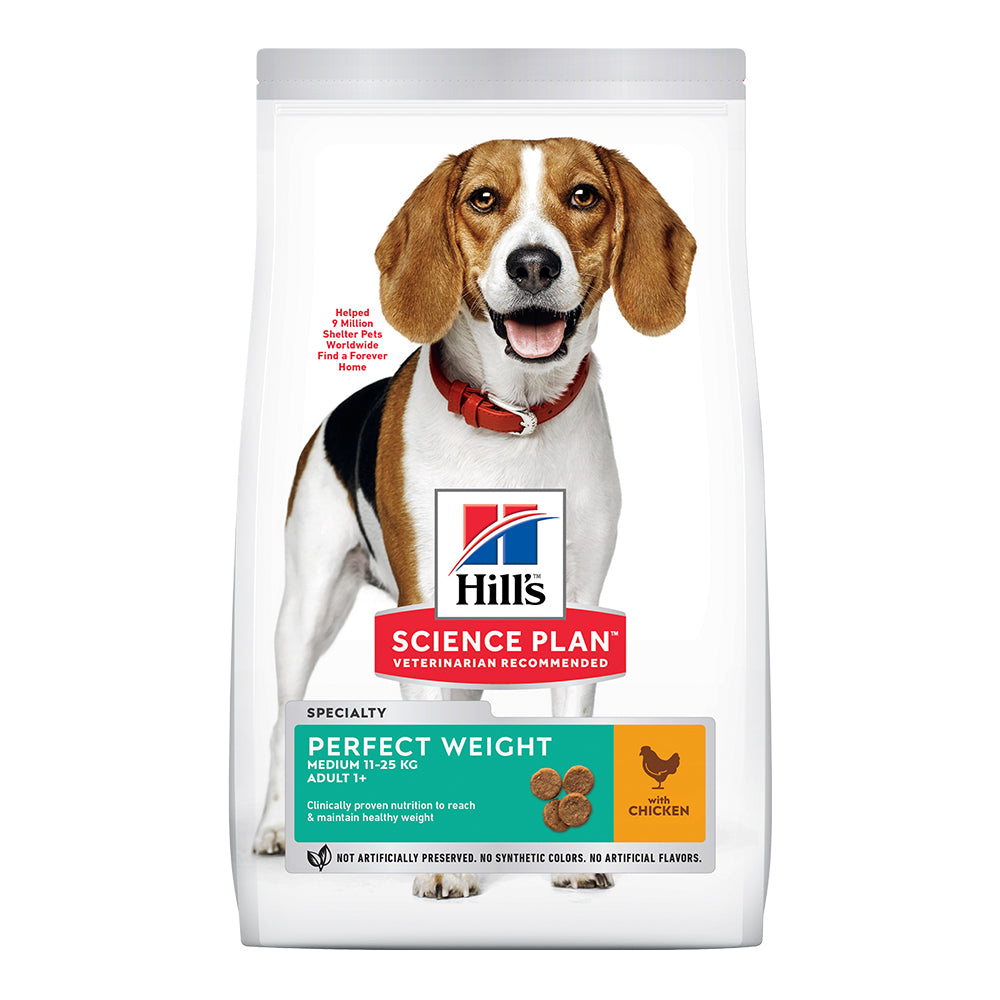 Hill's Adult Perfect Weight Medium Dry Food - Chicken