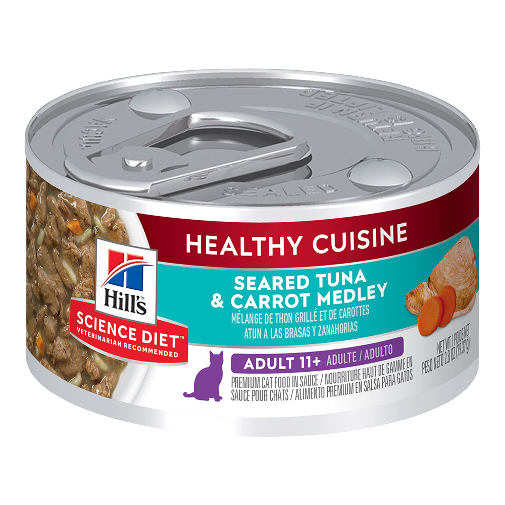 Hill's Adult Wet Cat Food - Seared Tuna & Carrot