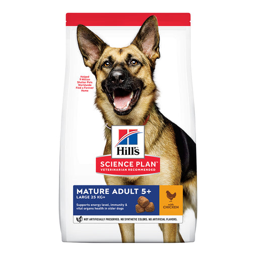 Hill's Mature Adult Large Breed 5+ Dry Food - Chicken