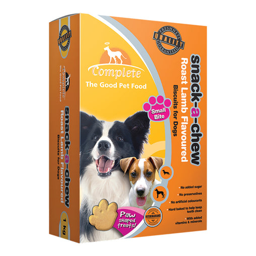 Complete Snack A Chew Roast Lamb Flavour