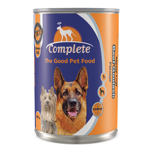 Complete Dog Meaty Loaf Beef Goulash Flavour